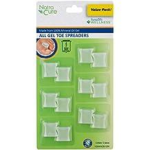 NatraCure Gel Toe Separators - Toe Spacers - 12 Pack - Medium
