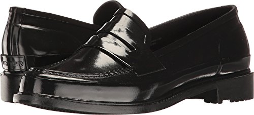 23c6451e067 Hunter Women s Original Penny Loafer Black Shoe - Import It All