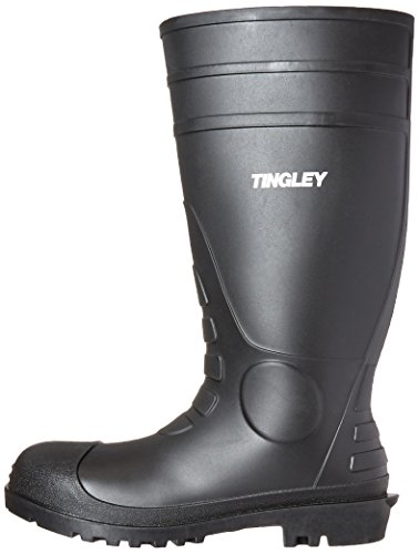TINGLEY RUBBER - Black PVC Work Boot, Size 11