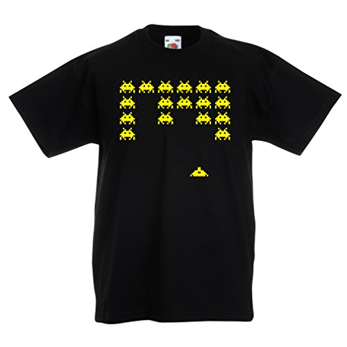 Funny t Shirts For Kids Vintage pc Maniacs Funny Gamer Gifts Funny Gamer Shirts (12-13 Years Black Yellow)