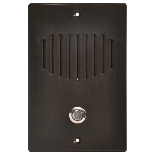 IST RETRO Intercom Door Station, 3-Wire Retrofit, Oil Rubbed Bronze (RETRO-DBZ) by Intrasonic Technology