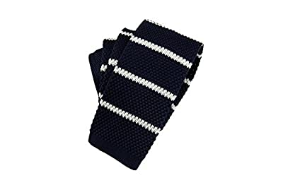 New Gravata Men'S Casual Cravat Wool Knit Necktie Ties For Wedding Party Stripes Printed Skinny Narrow Knitted Tie^13