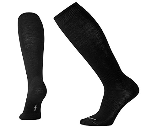 Smartwool Men's Boot Sock Over-the-Calf Black - Smartwool Knee Warmers