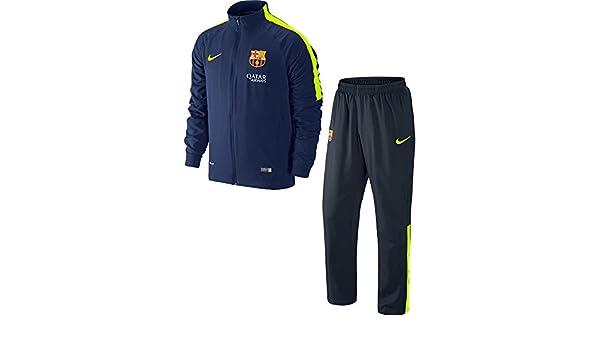 Nike - Barcelona Chandal Junior 14/15 Hombre Color: Marino Talla ...
