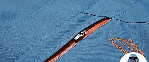 Herrenjacke von Purposefull - Warme und winddichte Oberbekleidung - Polyester- und Baumwollfutter Material - Reißverschluss - Umlegekragen - Armee-grüne Farbe - XXXL