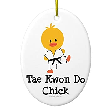 Funny Christmas Ornaments for Kids Tae Kwon Do Chick Ornament Oval Holiday  Tree Ornaments Decoration Xmas - Amazon.com: Funny Christmas Ornaments For Kids Tae Kwon Do Chick