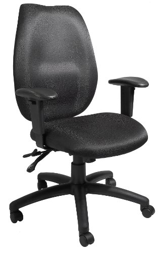 Boss Office Products B1002-BK High Back Task Chair in Black ()