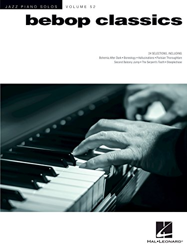 Bebop Classics: Jazz Piano Solos Series Volume - Series Bebop Jazz