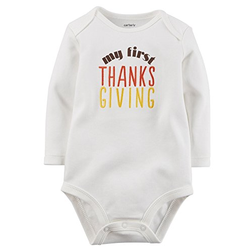Carters Unisex Clothing Thanksgiving Bodysuit
