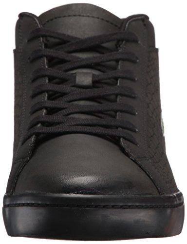 Mens Lacoste Straightset Sp Chuk 417 1 Sneaker Nero / Nero