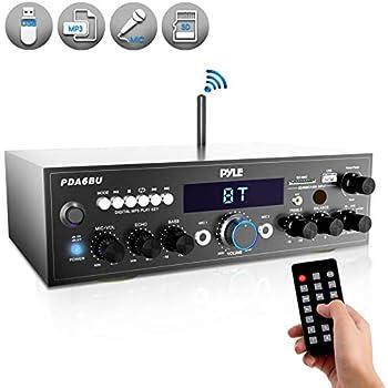 Amazon com: Home Audio Power Amplifier System - 2x120W Dual Channel