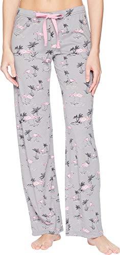 PJ Salvage Women's Sunshine Days Crop Pant, heathergrey, S (Pj Jersey Salvage)