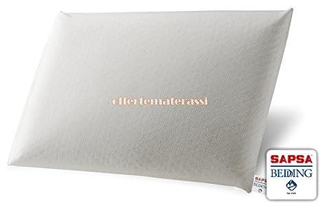 Almohada Pirelli Classic, 100 % látex, de 10 cm de alto: Amazon.es: Hogar