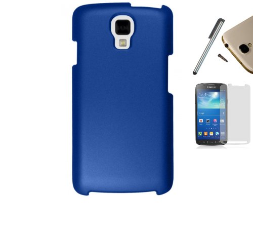 For LG LS740 Volt (Boost Mobile Sprint) Hard Case Snap On Cellphone Rubberized Plastic Cover + [WORLD ACC]
