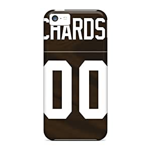 Scratch Protection Hard Phone Covers For Iphone 5c With Unique Design Attractive Cleveland Browns Series JasonPelletier