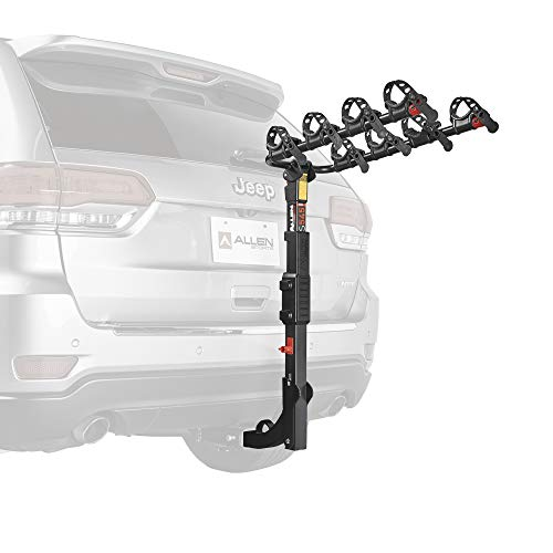 (Allen Sports Premier Hitch Mounted 4-Bike Carrier )
