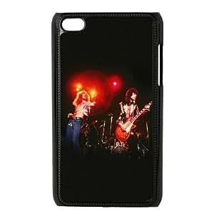 iPod Touch 4 Case Black ac13 led zeppelin music Nvkqj