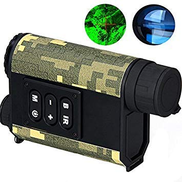 IPRee 6X32 Night Vision Infrared IR Monocular 500M Digital