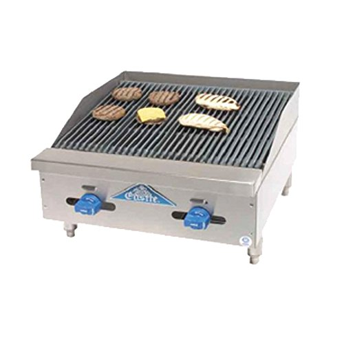 (Comstock Castle 3224RB Castle Series Countertop Gas Radiant Char Broiler)