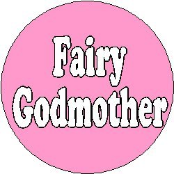 Godmother Pin (FAIRY GODMOTHER 1.25
