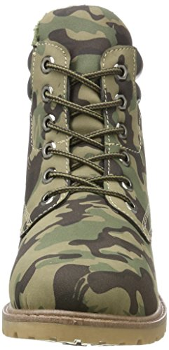 Donna 194114 Brouge Tyra Multicolore Camouflage Scarpe Stringate Hailys Lu wqZ744