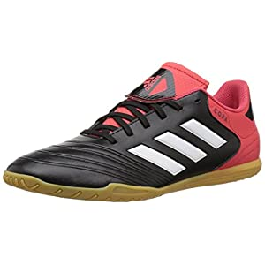 Adidas Men's Copa Tango 18.4 in Soccer Shoe, Core Black/White/Real Coral, 11 M US
