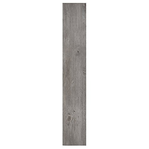Achim Home Furnishings Achig VFP1.2GO10 Nexus 1.2Mm Vinyl Floor Planks, 6 Inches x 36 Inches, Light Grey ()