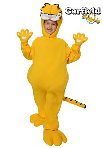Big Boys' Garfield Costume Medium