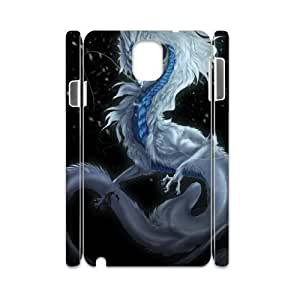 Customized Phone Case with Hard Shell Protection for Samsung Galaxy Note 3 N9000 3D case with The mighty dragon lxa#863964 by icecream design