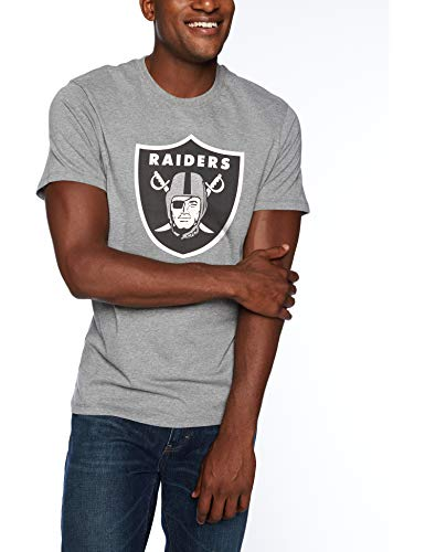 OTS NFL Oakland Raiders Male NFL Rival Tee, Slate Grey, for sale  Delivered anywhere in USA