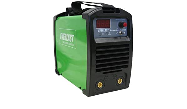 Amazon.com: EVERLAST PowerARC 140 140amp Lift Start TIG / Stick IGBT Welder Dual Voltage by Everlast: Home & Kitchen