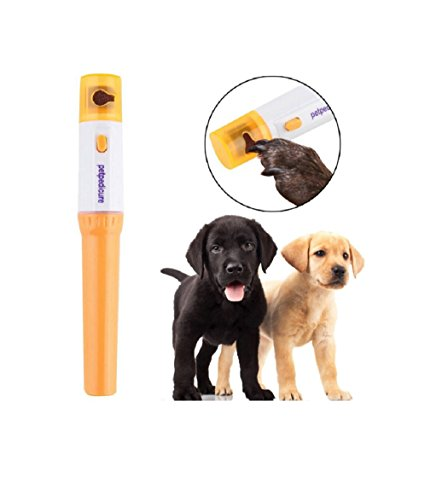 Electric Pet Dog Cat Claw Toe Nail Trimmer Care Grinder Clipper Grooming Tool