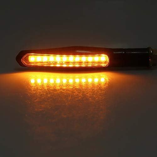 Proster Blinker Licht E Markiert 4pcs 12 Leds Fließende Elektronik