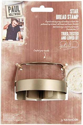 Kitchencraft Sello Estrella para Pan, Acero Inoxidable, Blanco, 8x13x20 cm: Amazon.es: Hogar