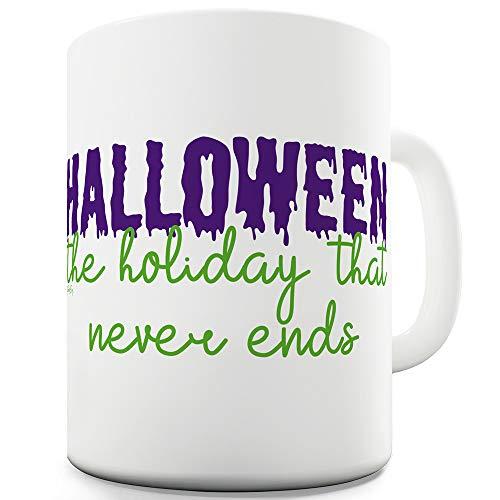 Halloween Never Ends 11 OZ Ceramic Funny Mug]()