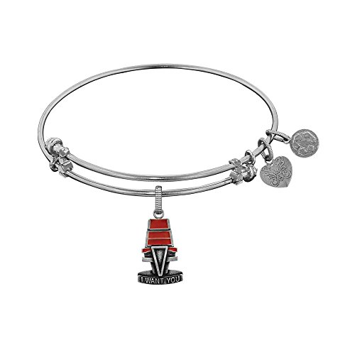 angelica-collection-white-brass-nbc-the-voice-i-want-you-chair-bangle-bracelet