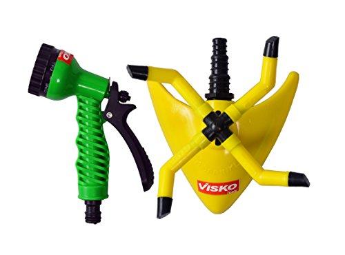 Visko GTK Garden Tool Set (Yellow, Green and Black, 2-Pieces)