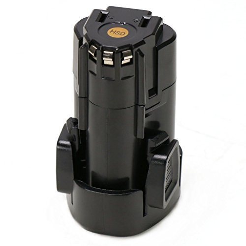 12V 1.5Ah Max Lithium Ion Battery Pack Replacement for Porter Cable PCL12BLX 12 Volt Cordless Impact Drill Driver by REEXBON