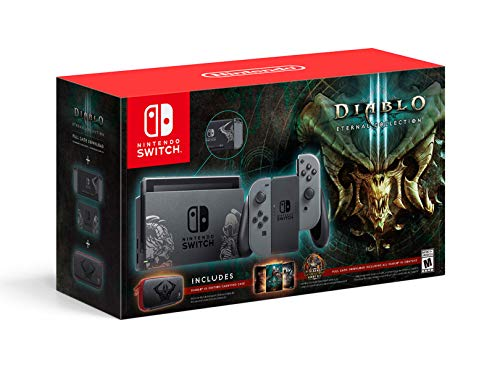 - Nintendo Switch Console Diablo III Eternal Collection Edition Bundle