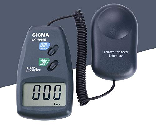 Sigma Instruments Digital Lux Meter (upto 50,000 Lux), with Calibration Certificate Price & Reviews