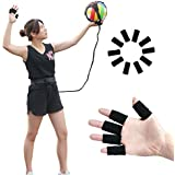Volleyball/Soccer Training Equipment Aid Solo Practice Arm Swings - Ball Rebound Equipment Tool - Solo Training Aid Adjustable Cord Waist Length - Perfect Volleyball Gift