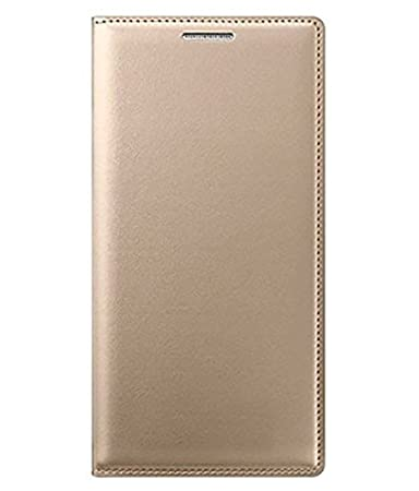SmartLike Samsung Galaxy A9 Pro  2016  Gold Leather Wallet Leather Flip Cover for Samsung Galaxy A9 Pro  2016  Mobile Accessories