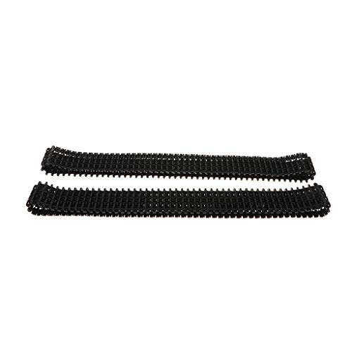 - Fityle Pair of 78cm Plastic Tank Crawler Track for DIY Robot RC Car Modified Parts Replacement Kits Science Toy
