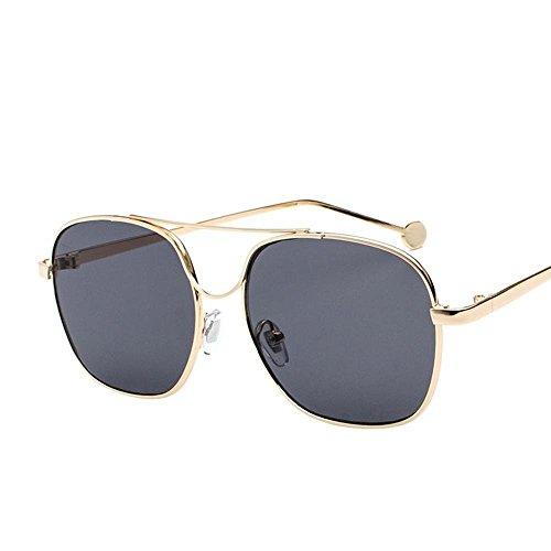 Controlador Gafas creativos de Color Océano Marco Sol Espejo Axiba Marea Piezas de Metal de Regalos Vidrios Hombre Sol de Gafas E Plano xC0wnUR