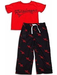 Little Boys Short Sleeve Pajamas