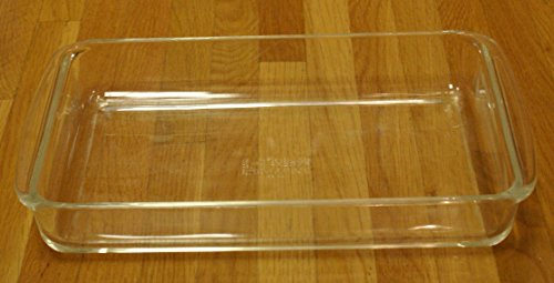 Vintage Pyrex 2 Quart Clear Glass Rectangle Lasagna Casserole Baking Dish 232