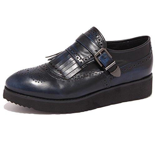 all'inglese 8677P woman blu donna scarpa shoe SANTINI scarpa MASSIMO Blu RqHnpxT5aq