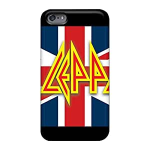 KaraPerron Iphone 6 Durable Hard Phone Covers Allow Personal Design HD Rolling Stones Image [pGe12570kais]