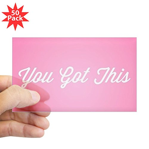CafePress - You Got This - Sticker (Rectangle 50 pk) by CafePress