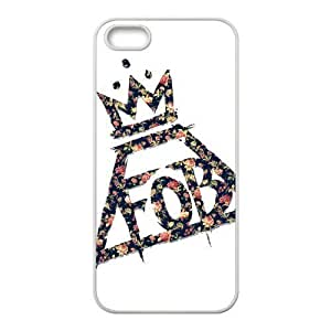 Fall Out Boy Pattern Design Solid Rubber Customized Cover Case for iPhone 4 4s 4s-linda407